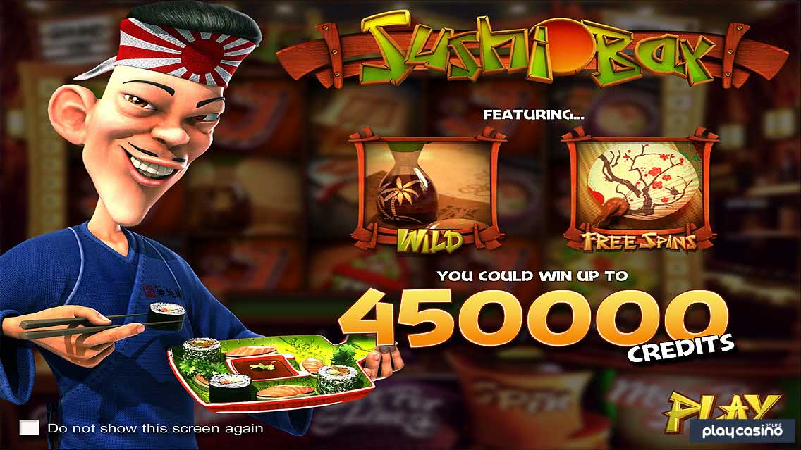 Sushi Bar Slot Game Features