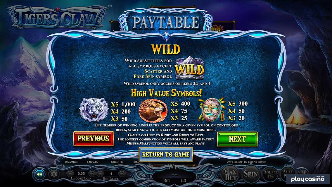 Wilds & High Value Symbol Payouts