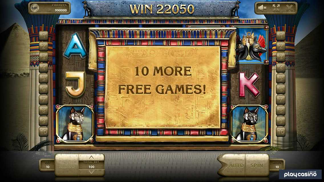 Temple Cats Slot Free Spins