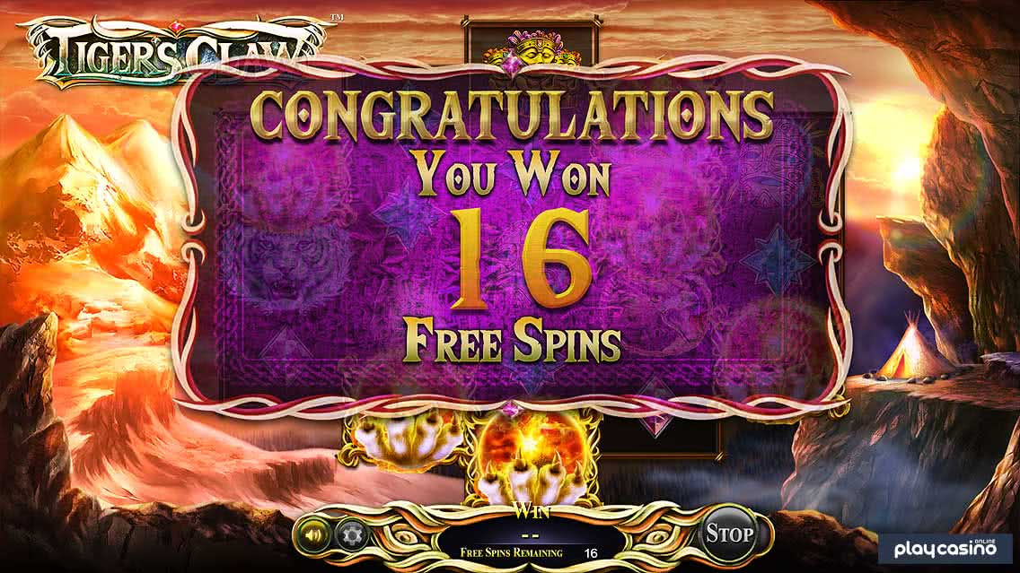 Tiger's Claw Free Spins