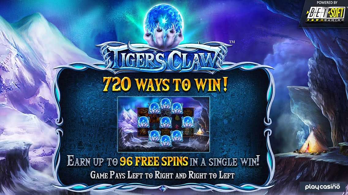 Tiger's Claw Slot by BetSoft
