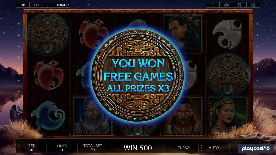 Tribe Slot Free Spins