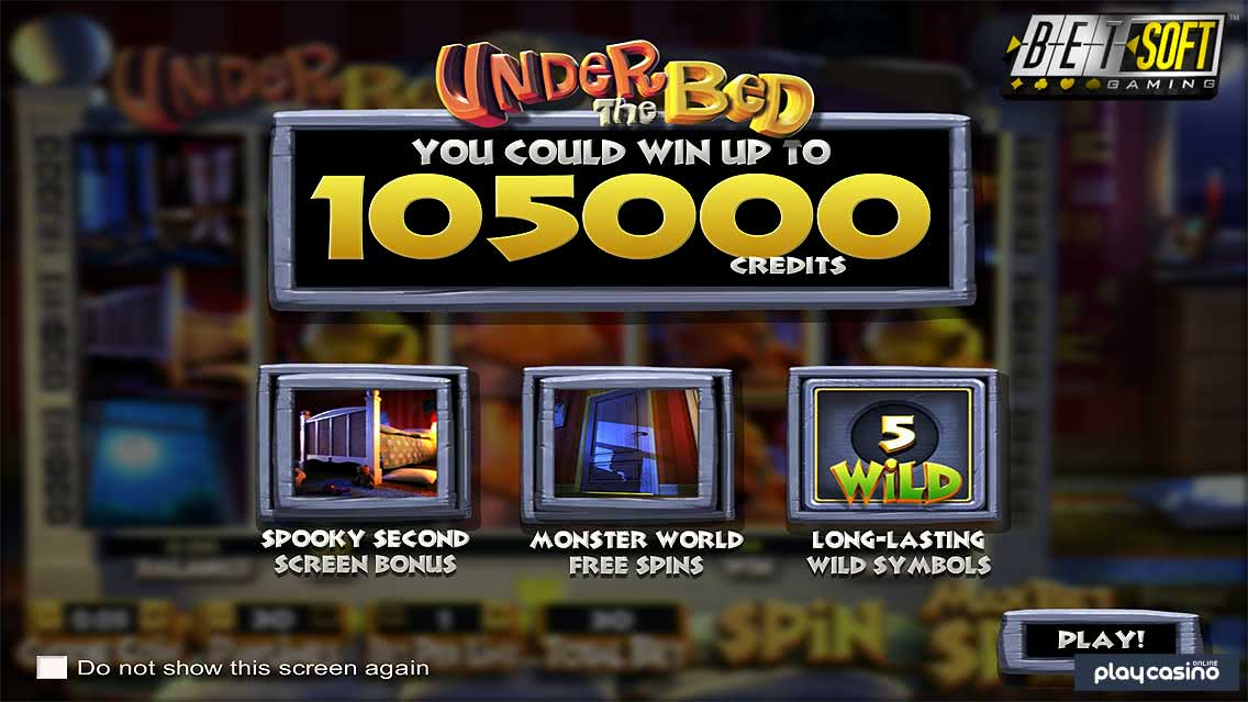 Under the Bed Slot Game Features