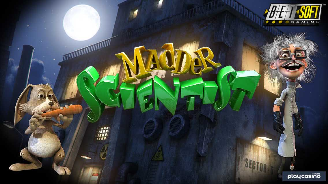 Madder Scientist Slot by BetSoft