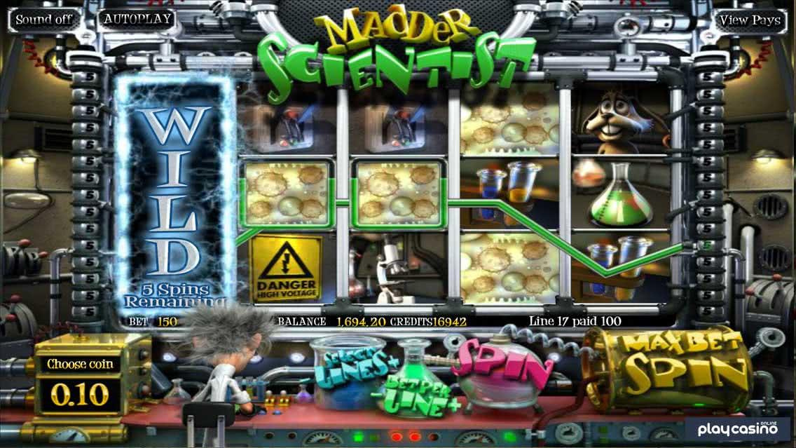 Madder Scientist - Wild Switch