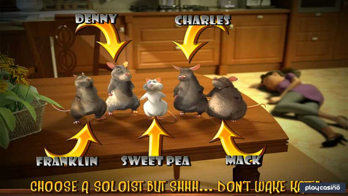 Ratty Rat Doo-Wop Bonus Round