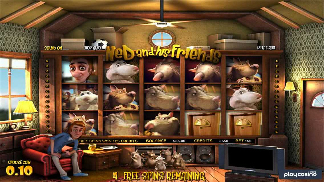 Ned and His Friends Slot Free Spins