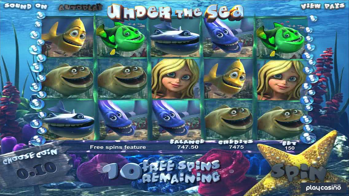 Under the Sea Free Spins