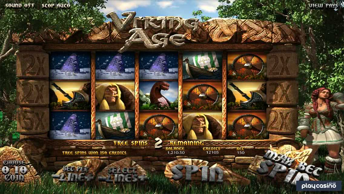 Viking Age Free Spins